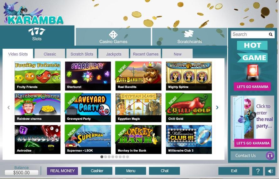 karamba online casino cassino games